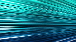 Computer generated loopable abstract motion background with blue horizontal stripes