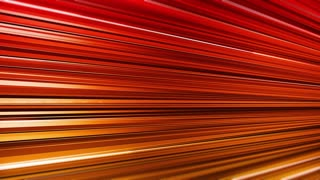 Computer generated seamless abstract motion background with red, golden and black horizontal stripes