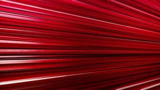 Digitally generated seamless abstract motion background with red glowing horizontal stripes