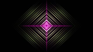 Abstract background animation with moving shapes