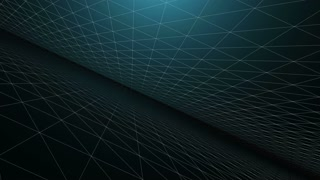 Flying in narrow space. Science concept. Motion graphics background.