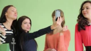 Group of girls Selfie