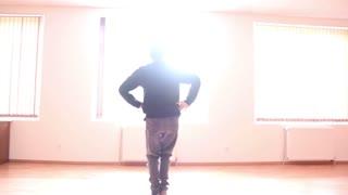 freestyle dancer practice