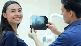 Healthy smile patient