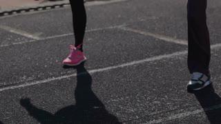 Leg muscle warm up