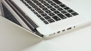 Closing Laptop Computer