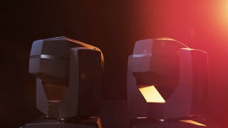 LED Head Spots Moving