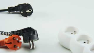 Plugging Black Cable to a Power Board