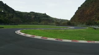 Race Track For Kart Racing