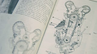 Technical Documentation of a Classic Car. An Internal Combustion Engine