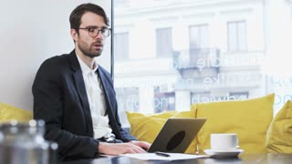 Young Businessman Receiving Really Bad News