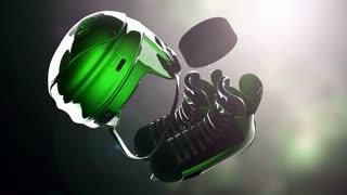 hockey puck and hockey equipment