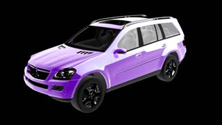 loop rotate car with alpha