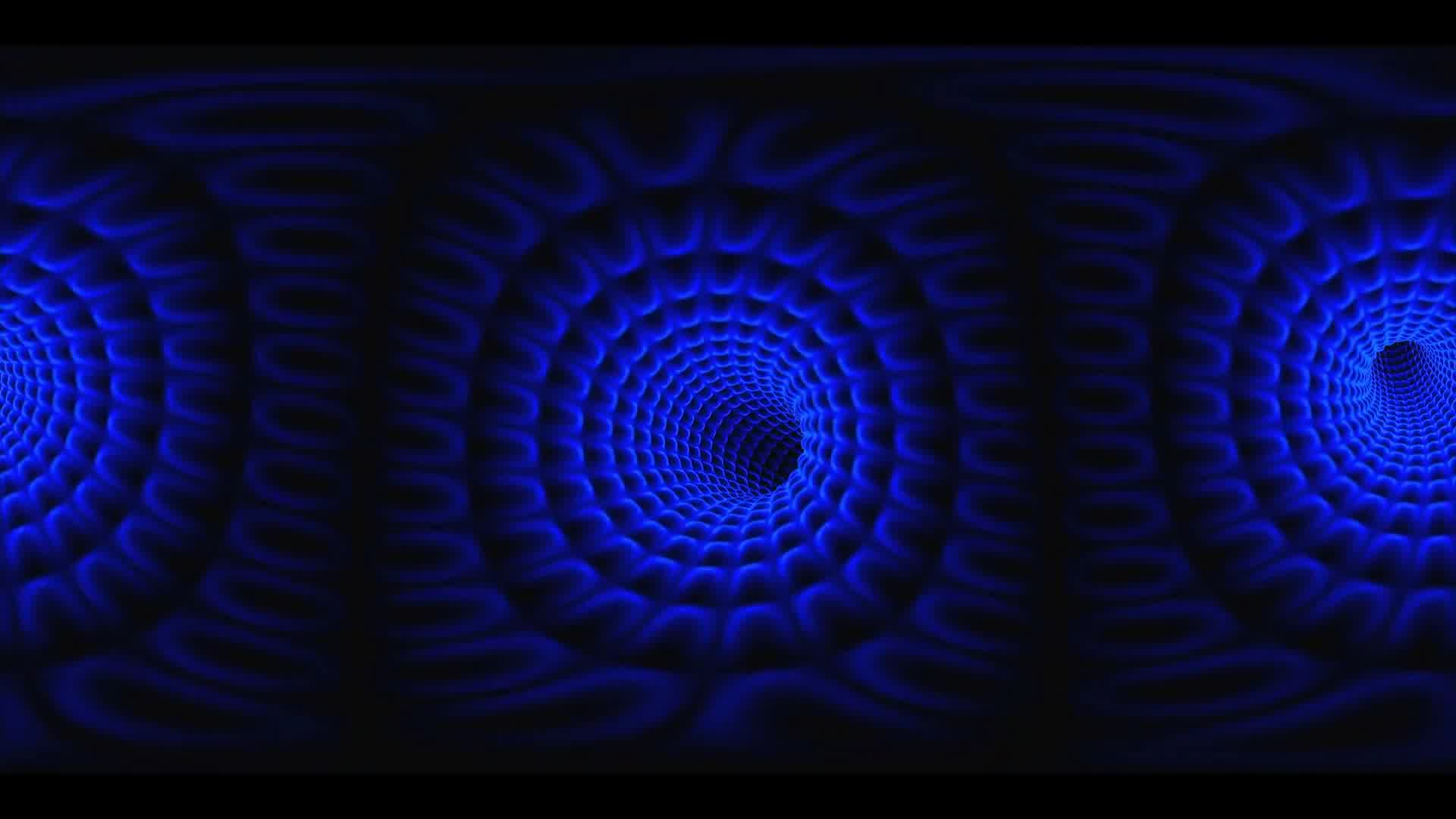 loop VR 360 colorfull wormhole. Warp straight ahead through this science fiction wormhole. virtual reality