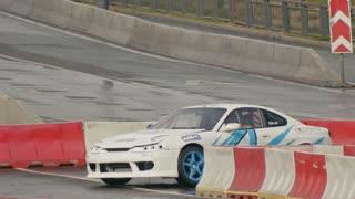 30 august 2016 Russia, Kazan - auto show Kazan City Racing, Day of City - drift car racing
