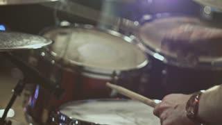 drummer at rock consert