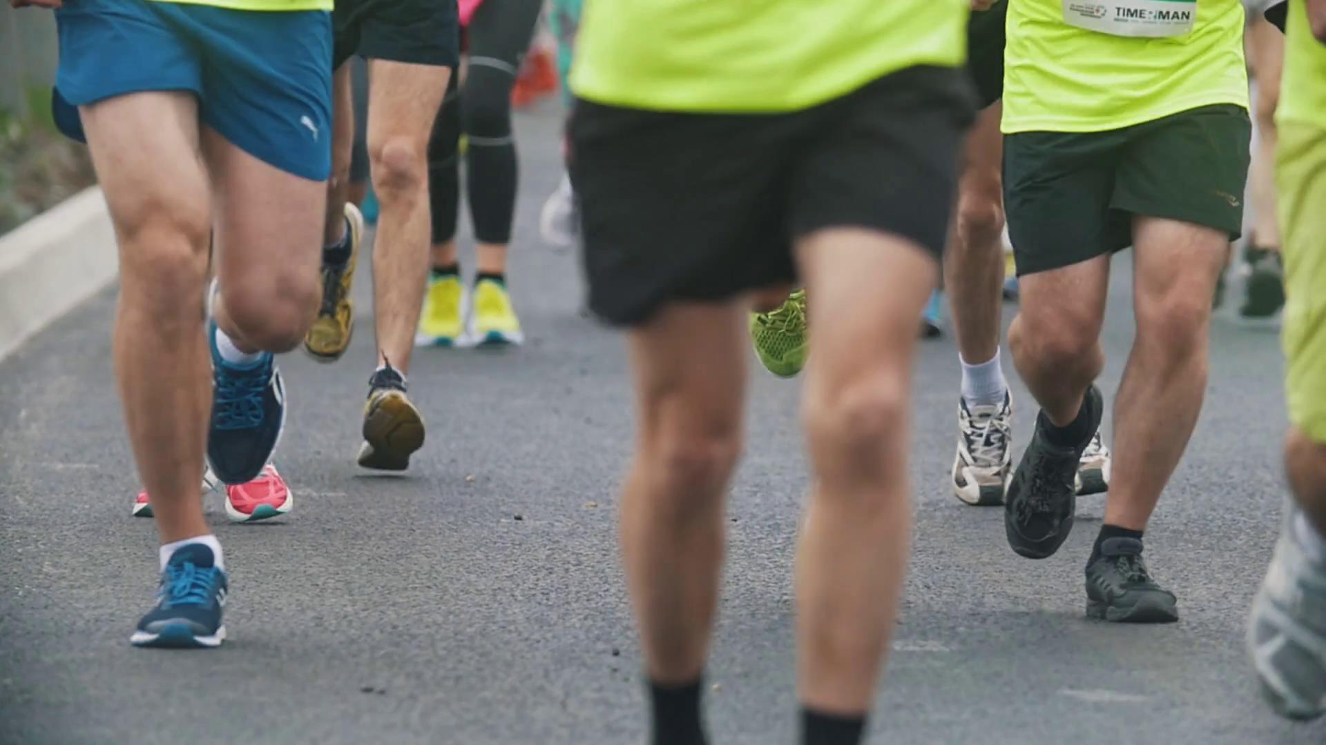 20 may 2018, Kazan, Russia - Kazan Marathon, face ...