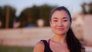Beautiful Young Woman Smiling