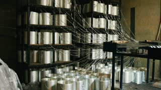 Chemical industry - plant for fiberglass composite reinforcement