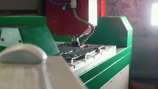 CNC milling or drilling machine