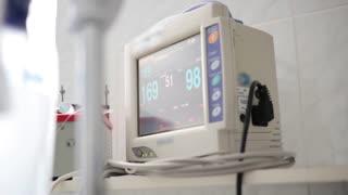 Medical computer monitor