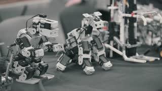 Robotics, robotic technology, robots are moving