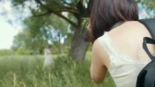 Wedding photographer - photo-session during wedding ceremony
