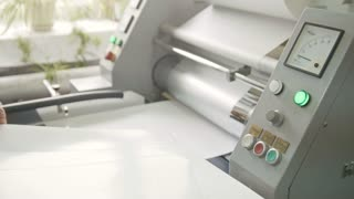 work printing machine, polygraph industry