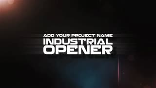 Cinematic Gears Wheel Rotating Opener