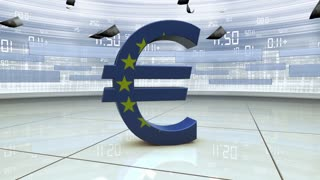 forex and finance sign background animation