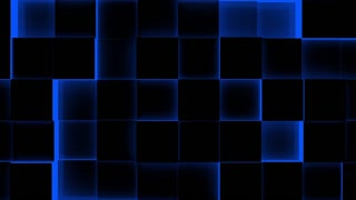 Illuminated Cubes Background-Seamless Loop