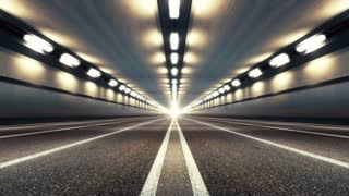 Linear Motion in Highway Tunnel