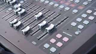 Audio board for soundboard adjusting machine