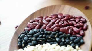 Beans red black and job's tear multi-grain protein food