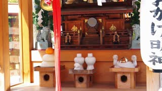Kyoto, Japan; March 2015- picture of famous Japanese shrines details boards setting. Abstract culture an travel