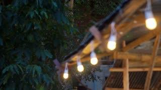 light bulb festival.movFestival light row hanging Asian style