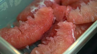 Pink Pomelo, tropical citrus high vitamin fruits