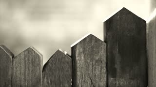 Wood house toy blocks, abstract house and lifestyle black and white