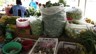 Andean market, Sangolqui, Ecuador