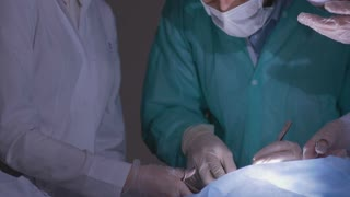 Doctors carried out the illegal organ transplants in a hidden hospital. Illegal organ transplants.