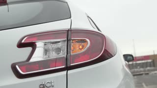 Car flashing light with blinking indicator
