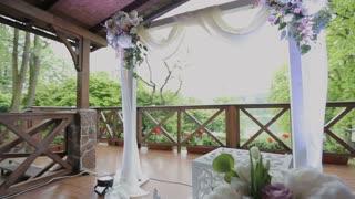 Decorations for wedding ceremony