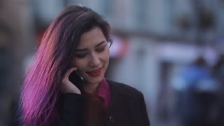 Business people - woman with smart phone
