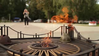 Eternal Flame, symbol of victory in World War II