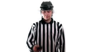 Hockey referee signal
