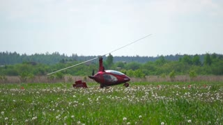 Red Helicopter is preparing to hop off