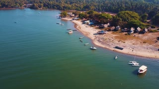 Indian fishing beach