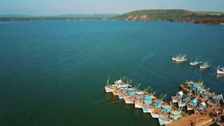 Indian fishing port, Chapora
