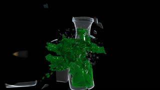 Carafe Destruction Green