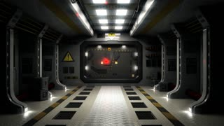 Sci Fi Door Transition 1080p